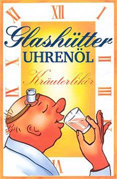 Glashütter Uhrenöl - Der Kräuterlikör aus dem Osterzgebirge